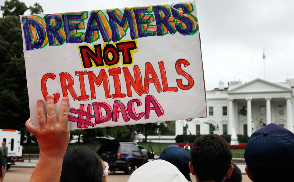 Dreamers knocked but no one answered at the White House Friday
