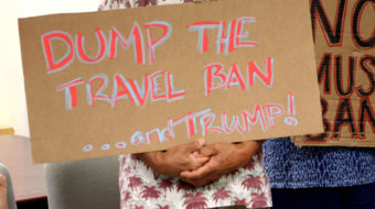 Trump administration asks Supreme Court to toss out Muslim ban case