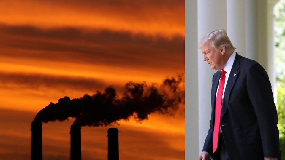 Leaked climate report reveals the truth Trump won't accept