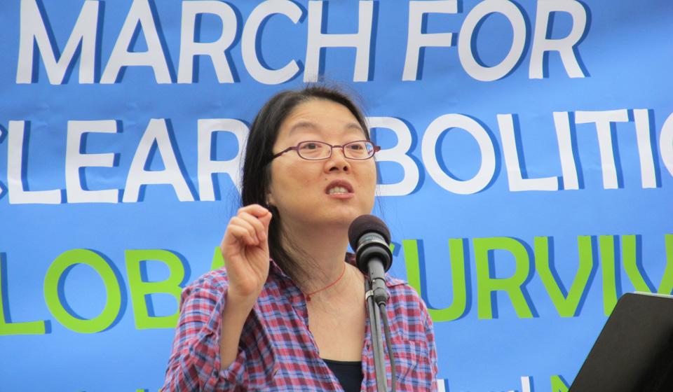 "California groups protest ""radioactive"" Livermore nuke lab"