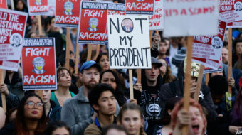 Judge allows Trump administration to collect names of protest website visitors