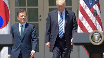 S. Korean president asserts right to veto U.S. strike on North
