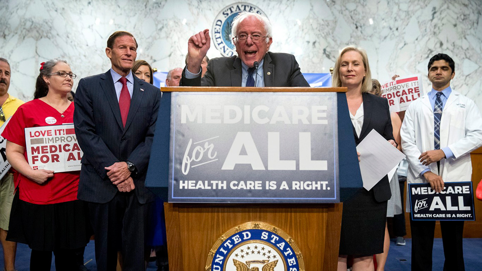 Medicare for All: Bernie Sanders unveils single-payer health bill
