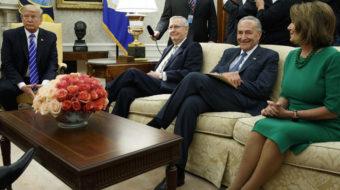 Schumer and Pelosi strike again: Democrats cut Dreamers deal with Trump