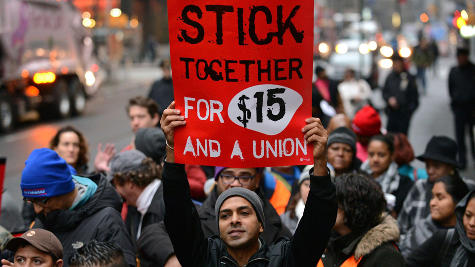 61 percent of Americans give thumbs-up to unions