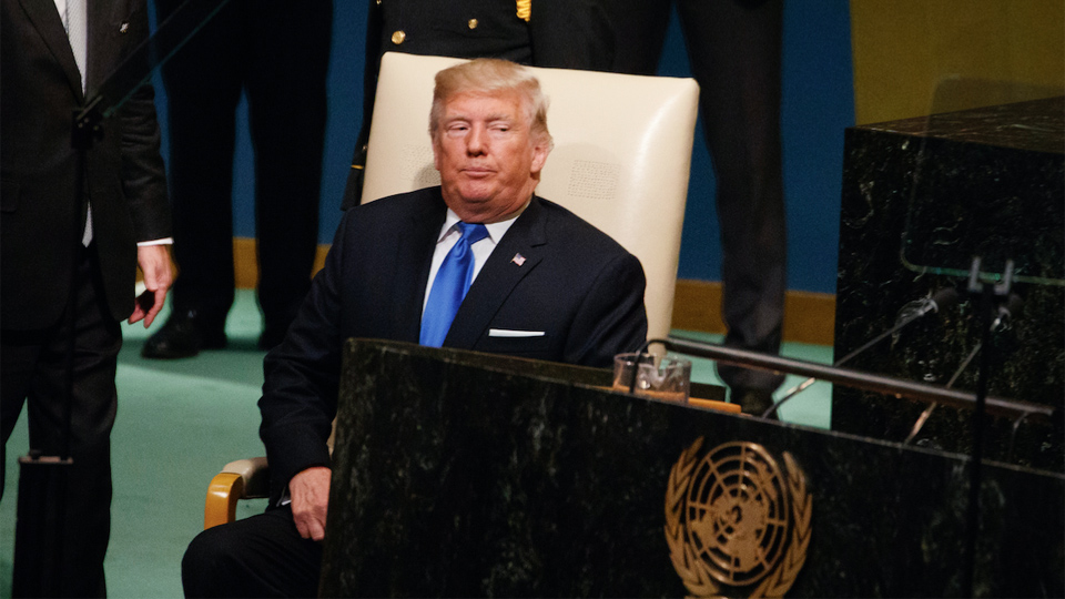 Trump's UN promises: War, racism, and an anti-communist crusade