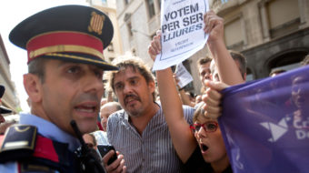 Spain launches police crackdown to stop Catalan independence referendum