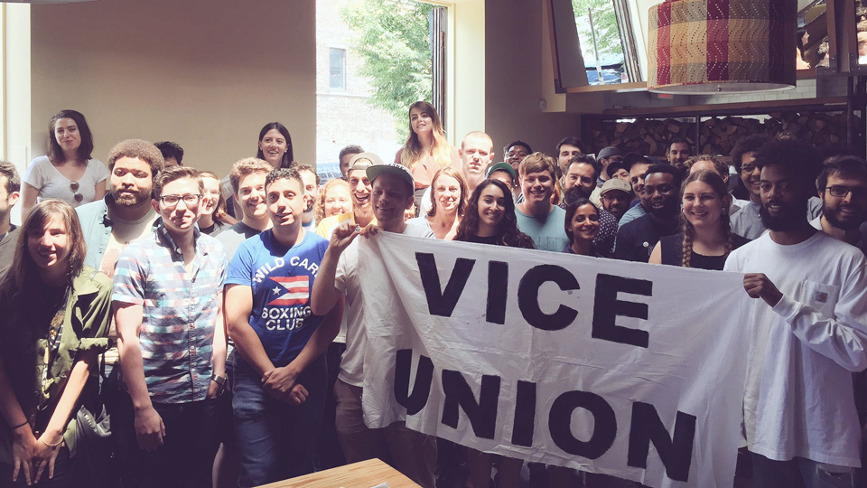 Union collaboration a success for VICE media campaign