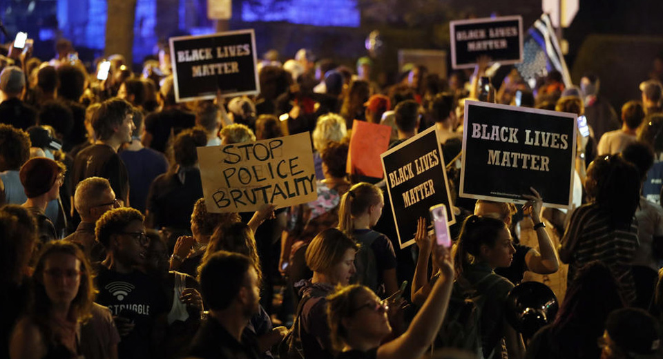 Protests erupt in St. Louis after acquittal of ex-cop Jason Stockley
