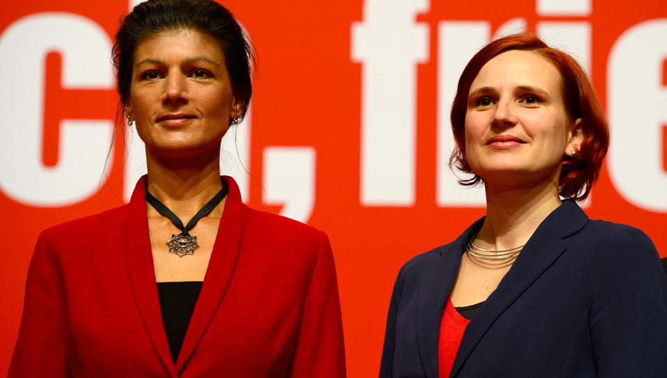 Germany's Left Party puts money where its mouth is on women's rights