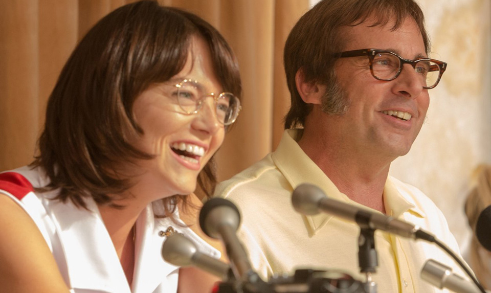 "Tennis comes a long way in new film ""Battle of the Sexes"""