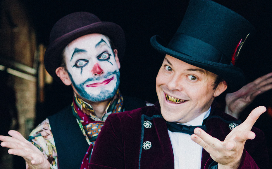 """Captain Greedy's Carnival"": The P.T. Barnum musical about free market capitalism"