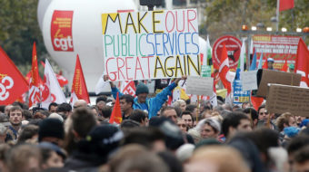 France: Unions take on Macron's 120,000 job cuts