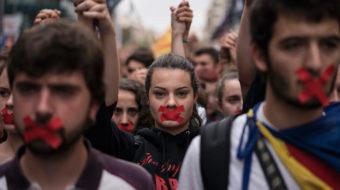 Declaración del PCE y el PSUC viu ante los graves hechos ocurridos en Cataluña