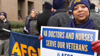People's World story exposing VA privatization wins prestigious award