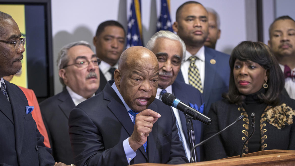 "Rep. John Lewis: ""Past few months have been hell on wheels"""