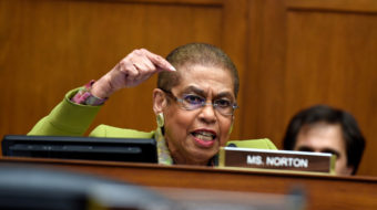 Sexual harassment hits Congress; Rep. Holmes Norton moves to extend protections