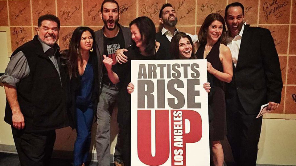 Anti-Trump artists' group rides again in short films