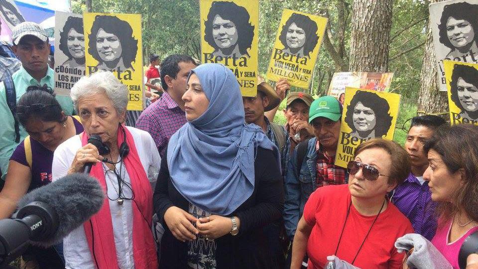 Solidaridad con Movimiento Hondureño