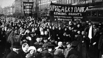 The women who helped lead the Russian Revolution