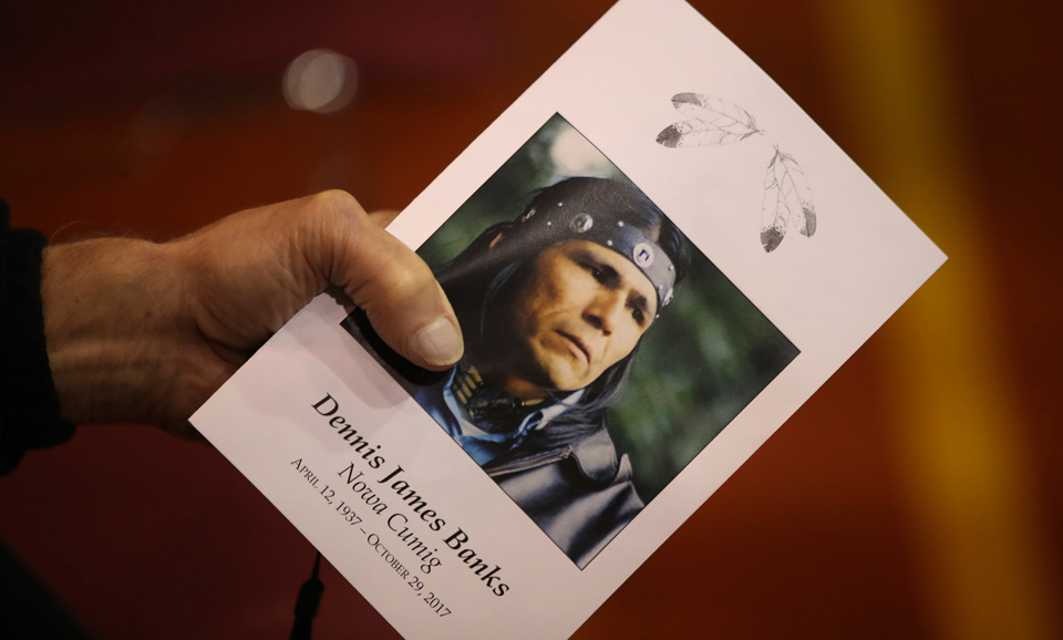 Nashville's Indigenous community honors AIM warrior Dennis Banks