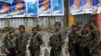 Coup fears escalate after Honduran vote; troops seen heading for capital