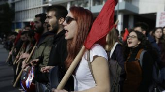Greek workers walk off the job in general strike
