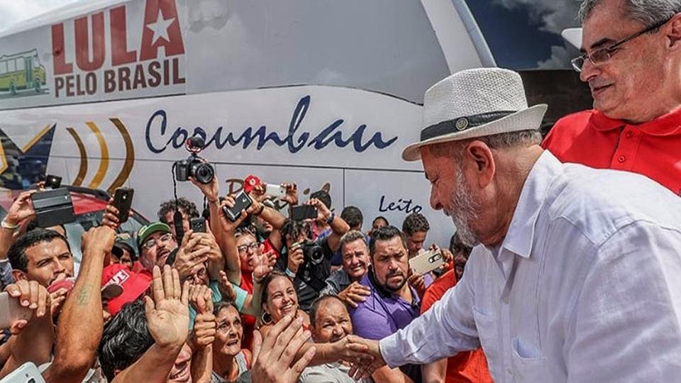 Lula es favorito en las elecciones brasileñas de 2018