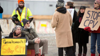 Actor/activist James Cromwell continues anti-fracking fight