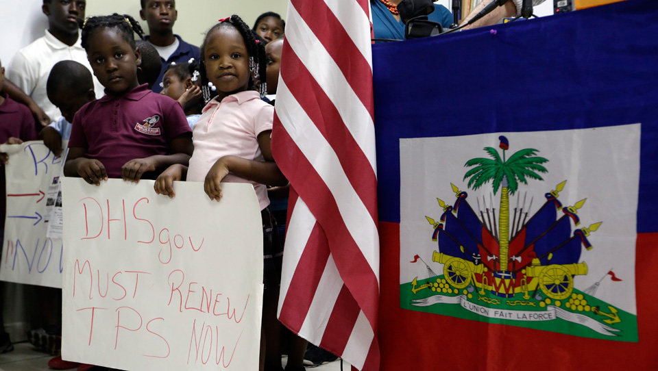 Trump's Christmas gift to Haitian earthquake refugees: Deportation