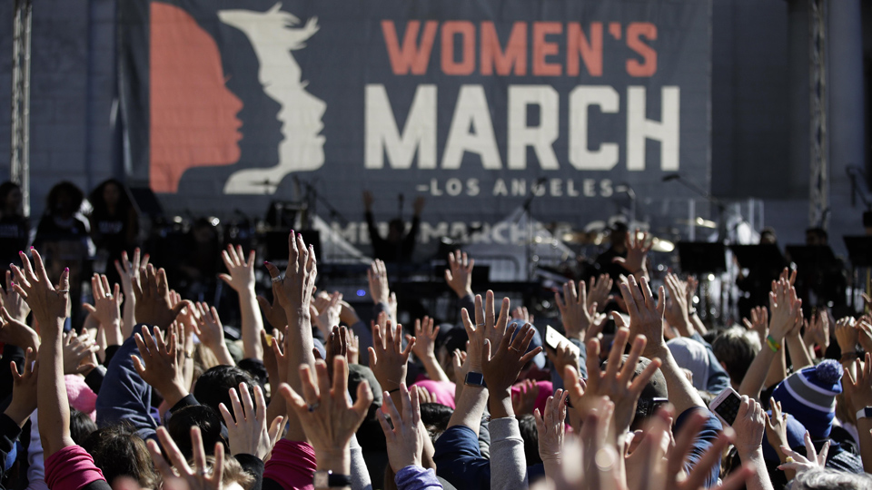 LA Women's march draws 500,000