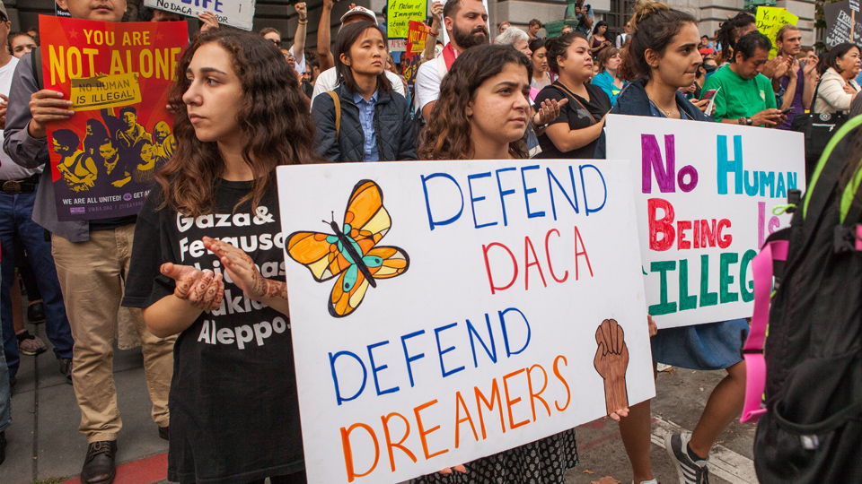 "Dreamers, allies demand passage of a ""clean"" Dream Act"