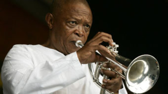 Hugh Masekela and the struggle against apartheid in South Africa