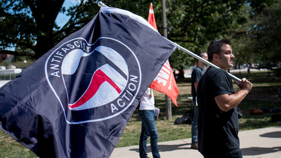 "Illinois student targeted by ""alt-right"" after confrontation at anti-fascist rally"