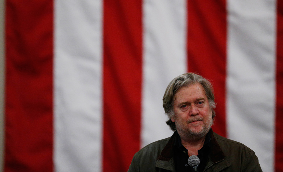 The rise and fall of Steve Bannon