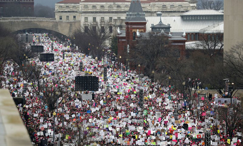 Women's March legacy: Thousands of women running for office in 2018