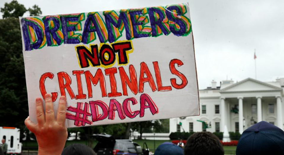 "Dreamers slam Trump's ""White Supremacist Ransom Note"""