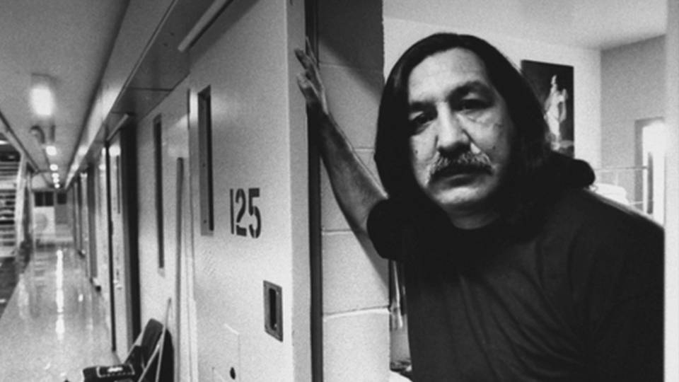 Indigenous activist Leonard Peltier speaks with People's World