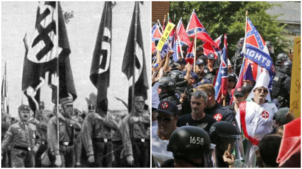 "Historians find parallels between Hitler's Nazis and today's ""alt-right"""