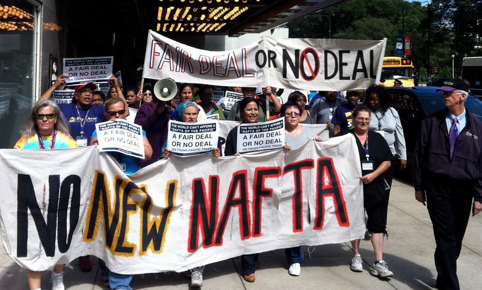 Trade merry-go-round: Labor leery of new NAFTA and TPP pacts