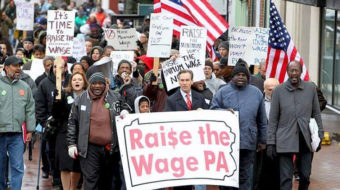 Northwest Philadelphians say: Good Jobs Now!