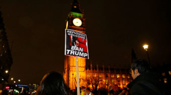 British anti-Trump campaigners claim victory as president cancels London visit