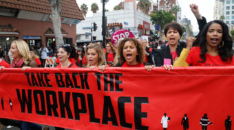 Labor union women commit to broadening fight against sexual harassment