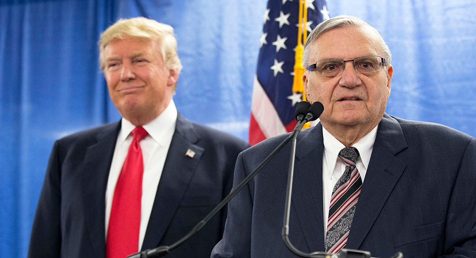 Criminal ex-sheriff, Joe Arpaio, wants Arizona's U.S. Senate seat