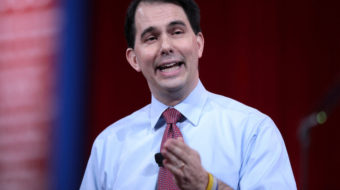 Is Scott Walker becoming a Democrat?