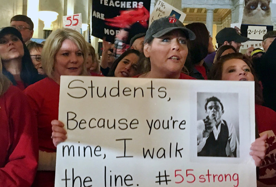 Low wages, health costs force West Virginia teachers into statewide strike