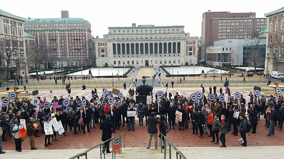 Columbia grad students' unionization case heads for court