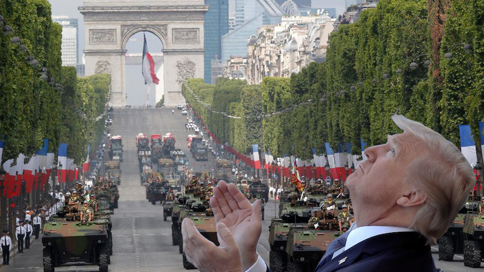 Soldiers, lawmakers rain on Trump's triumphal military parade plan