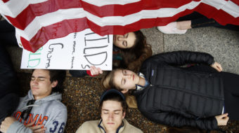 High school students lead national uprising for gun control