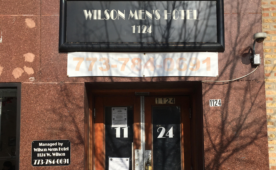 Uptown men's hotel tenants continue fight for affordable housing